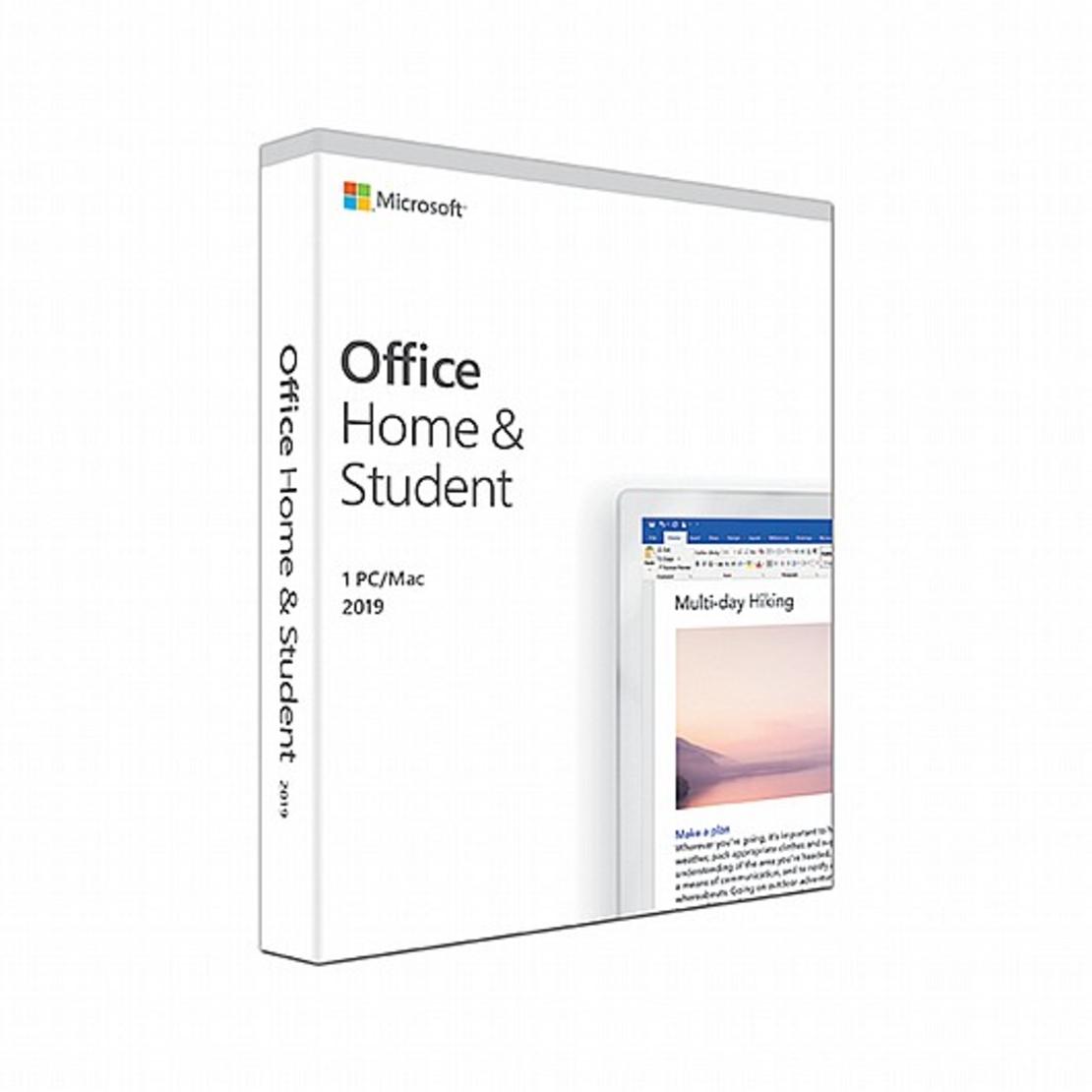 תוכנת Office Home and Student 2019 Hebrew Medialess 79G-05038