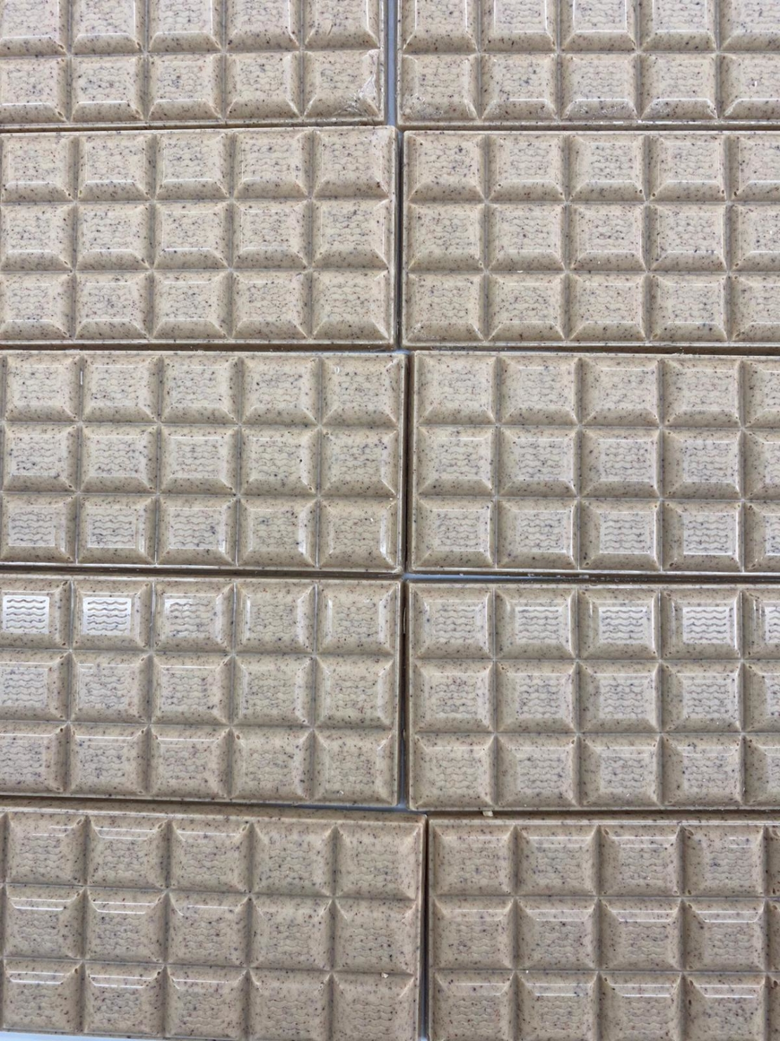 טבלת שוקולד לבן עם קינמון