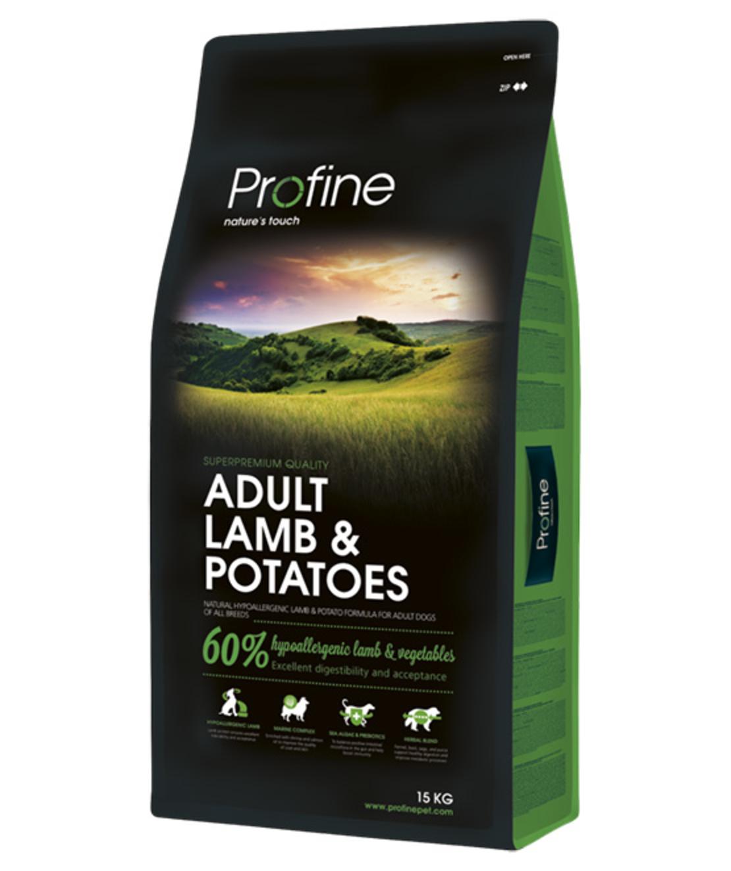 פרופיין - מזון יבש לכלבים בוגרים, כבש ותפוחי אדמה 3 קילו - profine