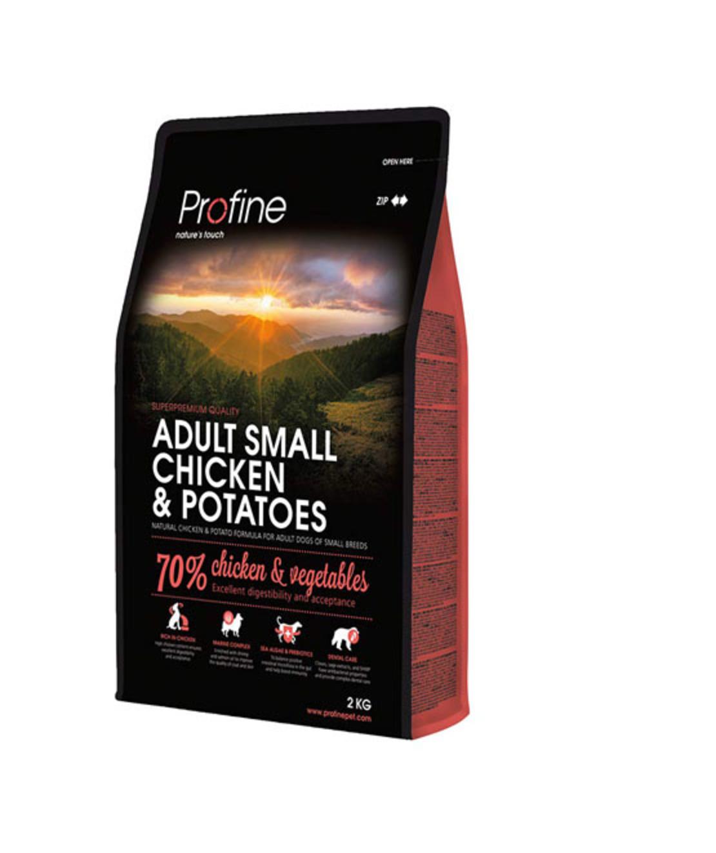 פרופיין - מזון יבש לכלבים בוגרים מיני מגזע קטן , עוף ותפוחי אדמה 10 קילו -profine