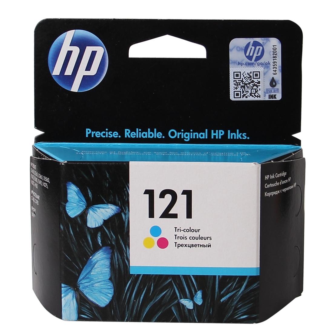 ראש דיו מקורי HP 121 צבעוני