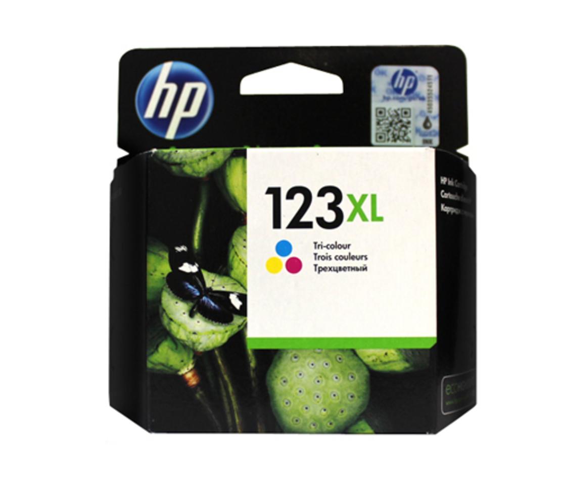 ראש דיו מקורי HP 123XL צבעוני