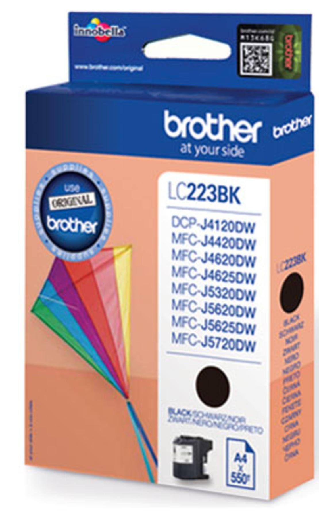 ראש דיו מקורי BROTHER 223 שחור