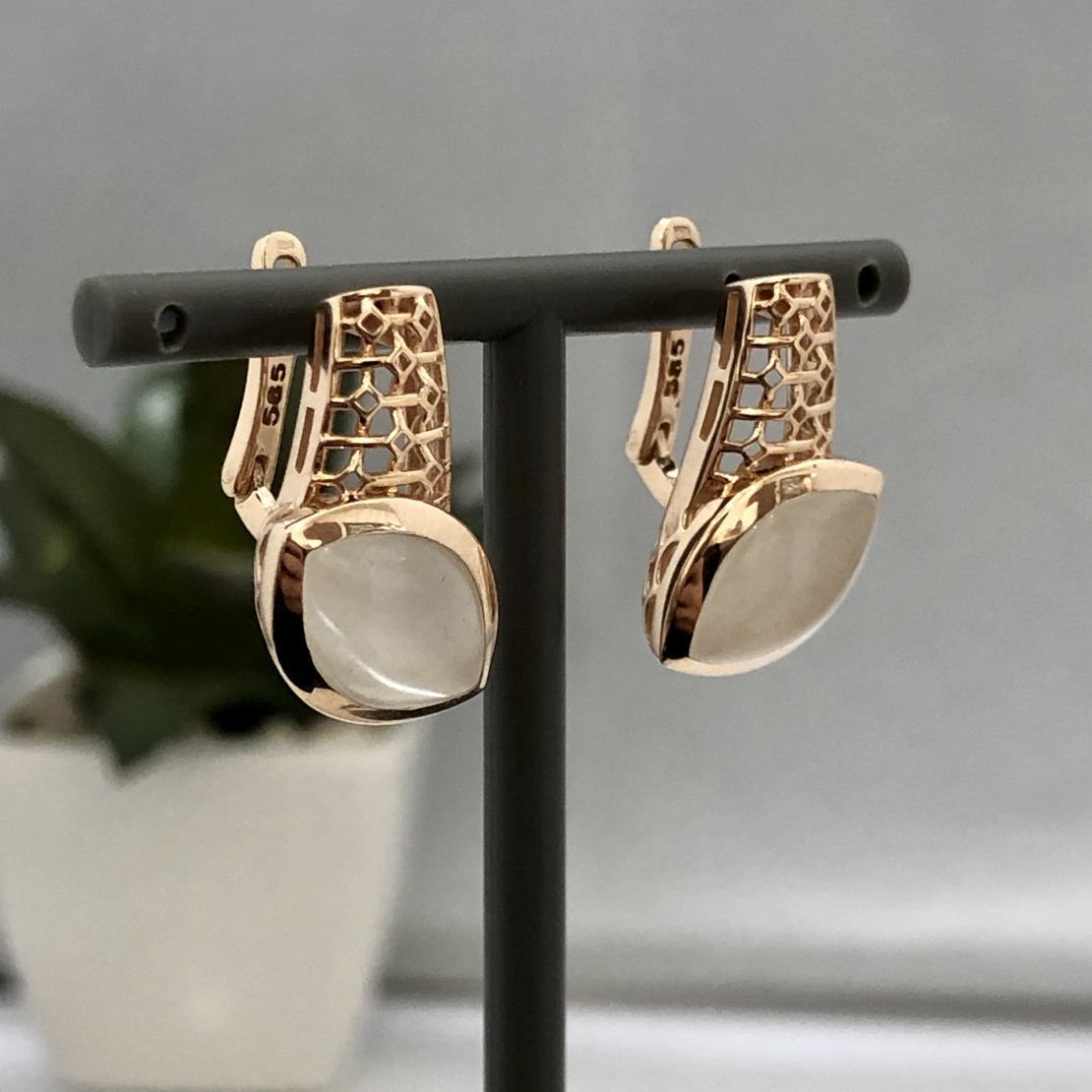 סט תליון, טבעת ועגילים 19GI670