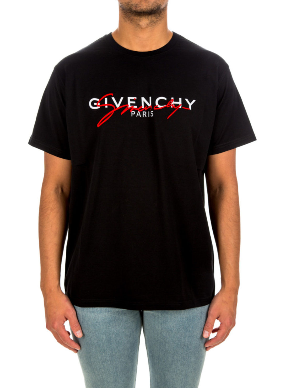 GIVENCHY- Signature Logo Tee