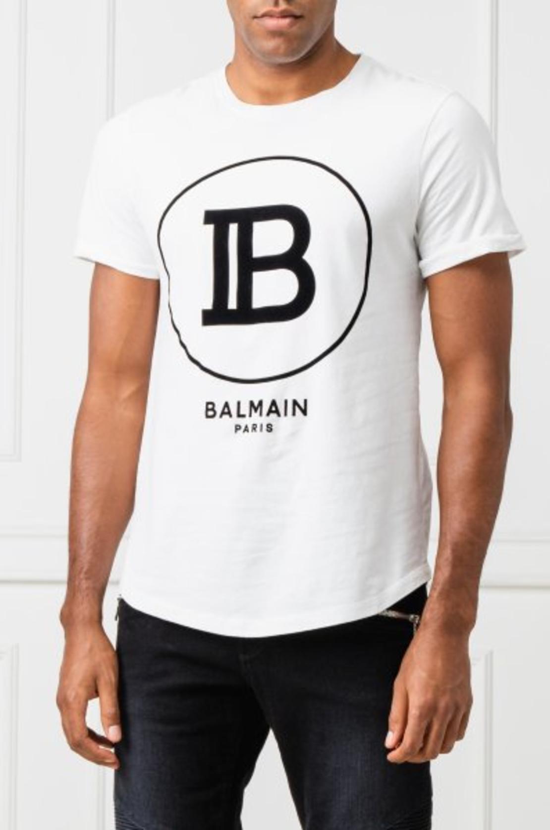 BALMAIN - T-Shirt  Logo