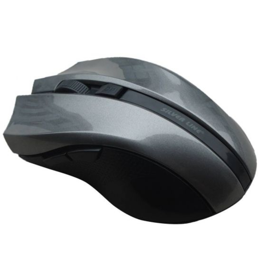 עכבר אלחוטי 5 לחצנים SILVER LINE RF317 2.4GHz אפור