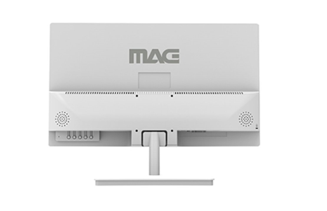 מסך מחשב צבע לבן עם רמקולים מובנים MAG Z24HDWH 23.8