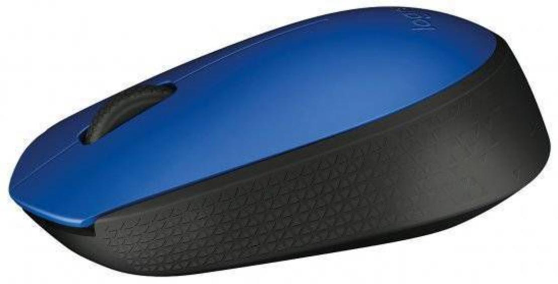 עכבר אלחוטי Logitech M171  - בצבע כחול
