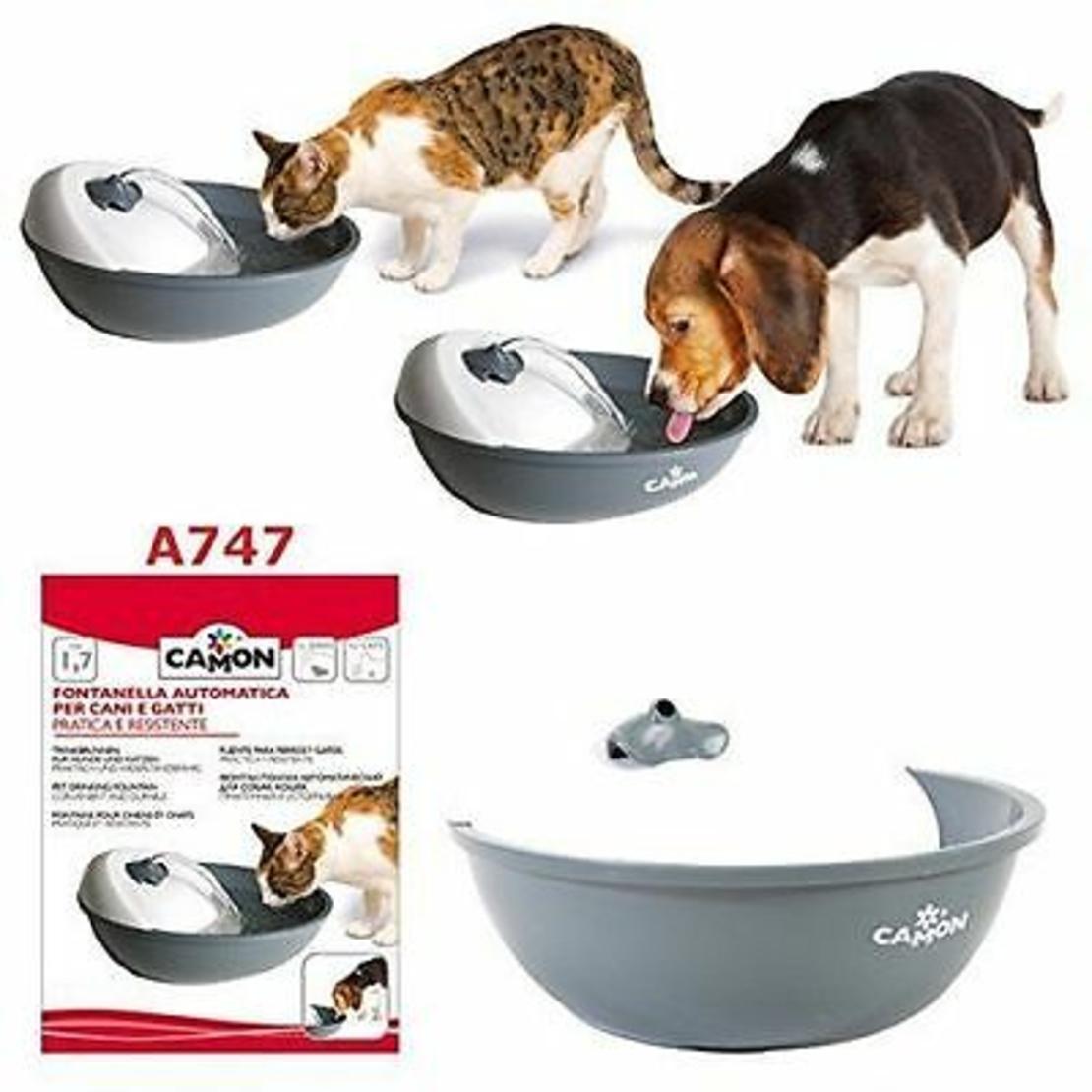 מזרקה לחתול ולכלב 1.7 ליטר