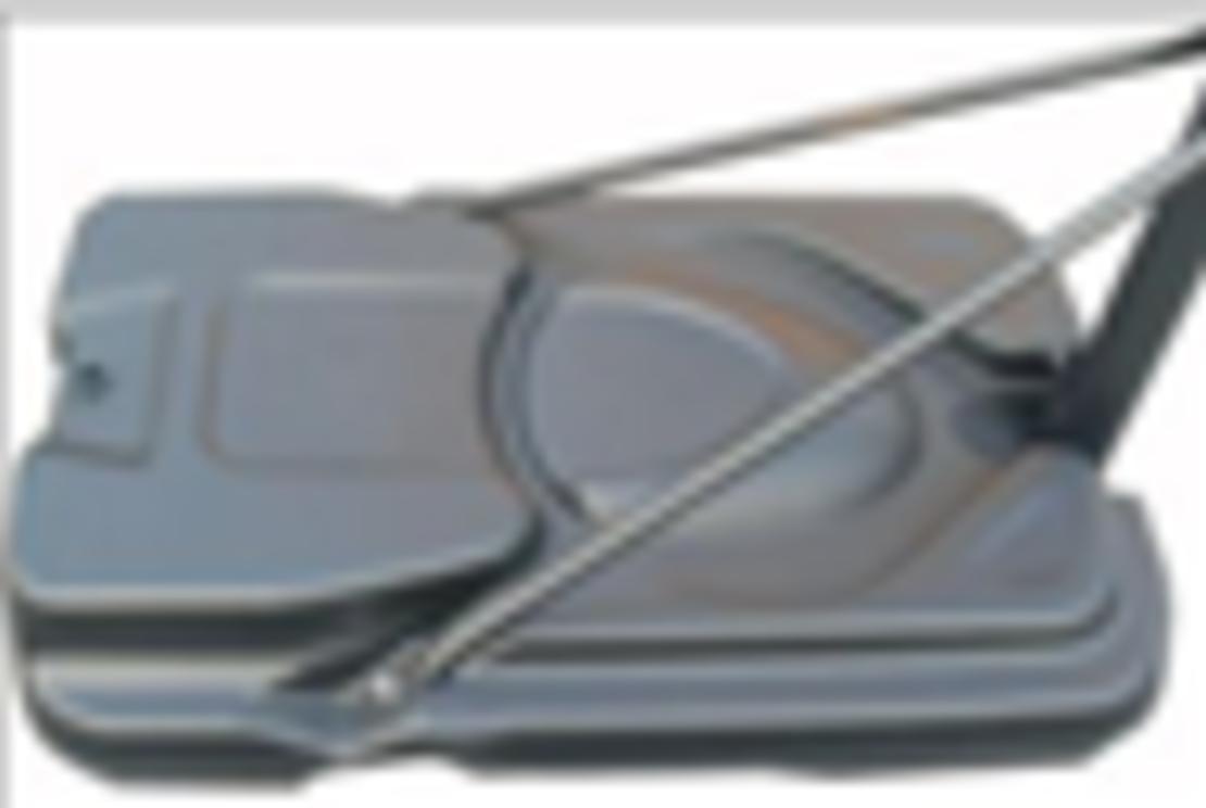 עמוד סל S025T-מתכוונן-230-305 עם ידית-לוח-120/80 Pace