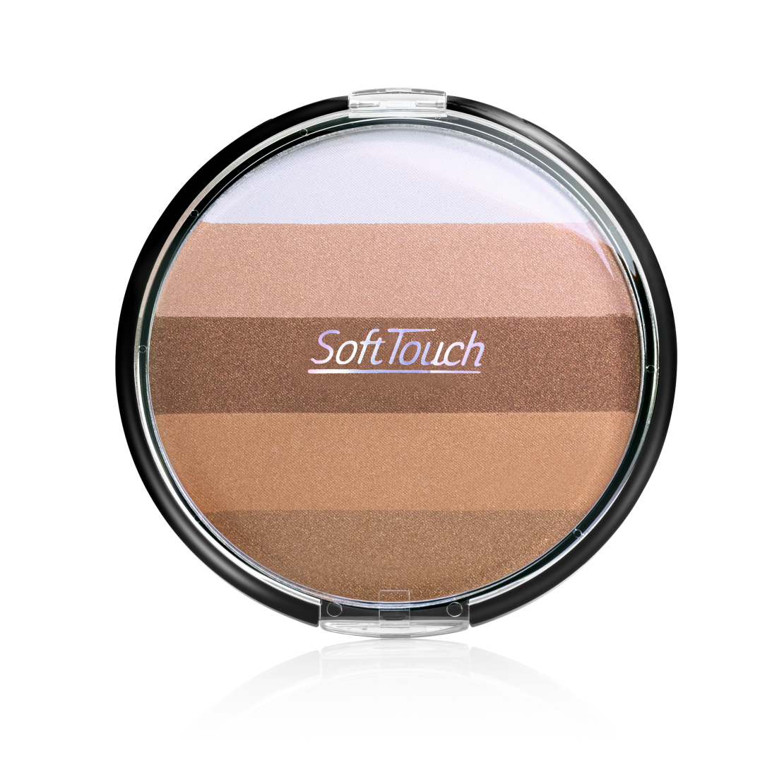 Soft Touch ברונזר בגודל ענק למראה זוהר  SUMMER PARTY , גוון 25