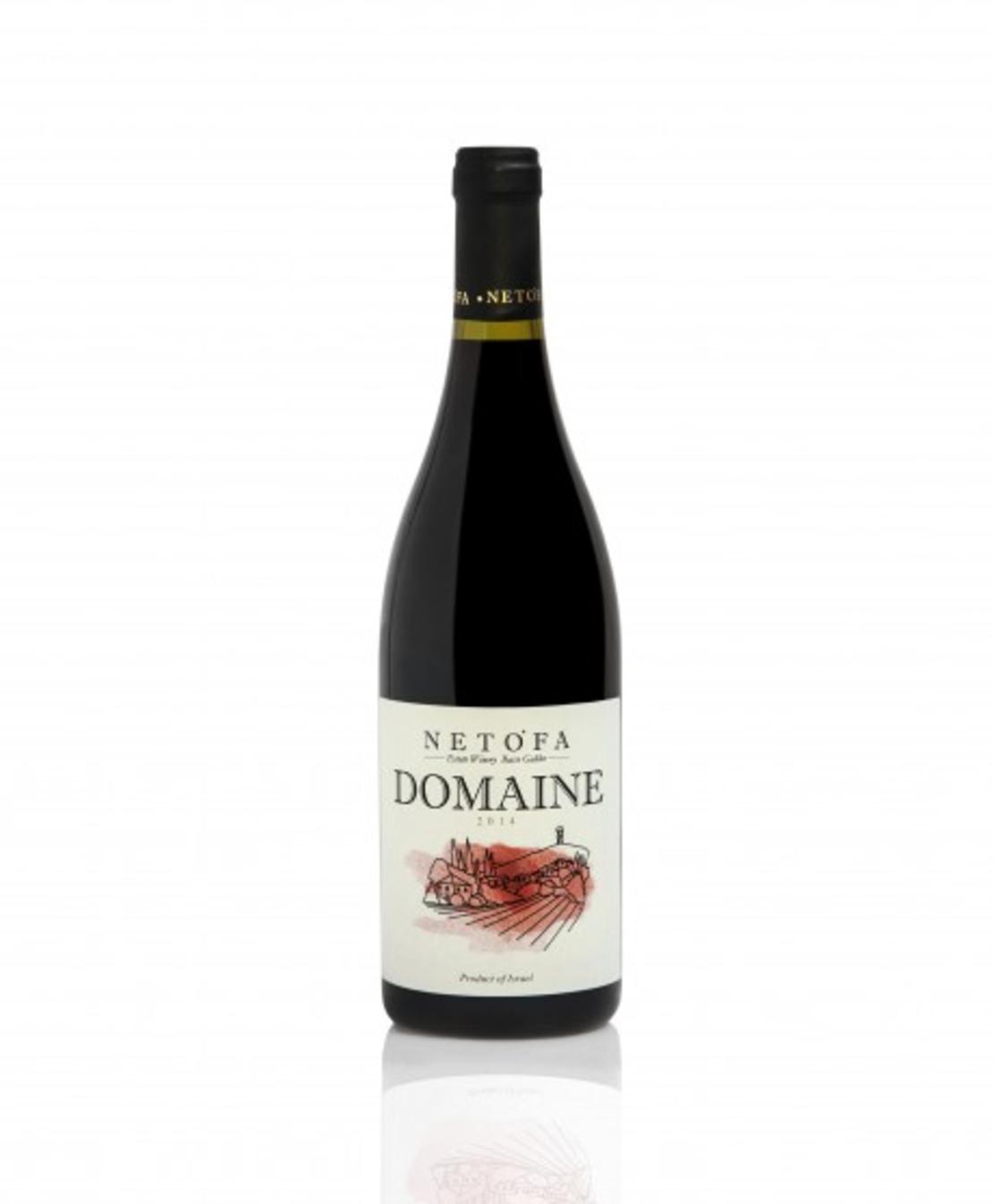 יין דומיין נטופה אדום 2018