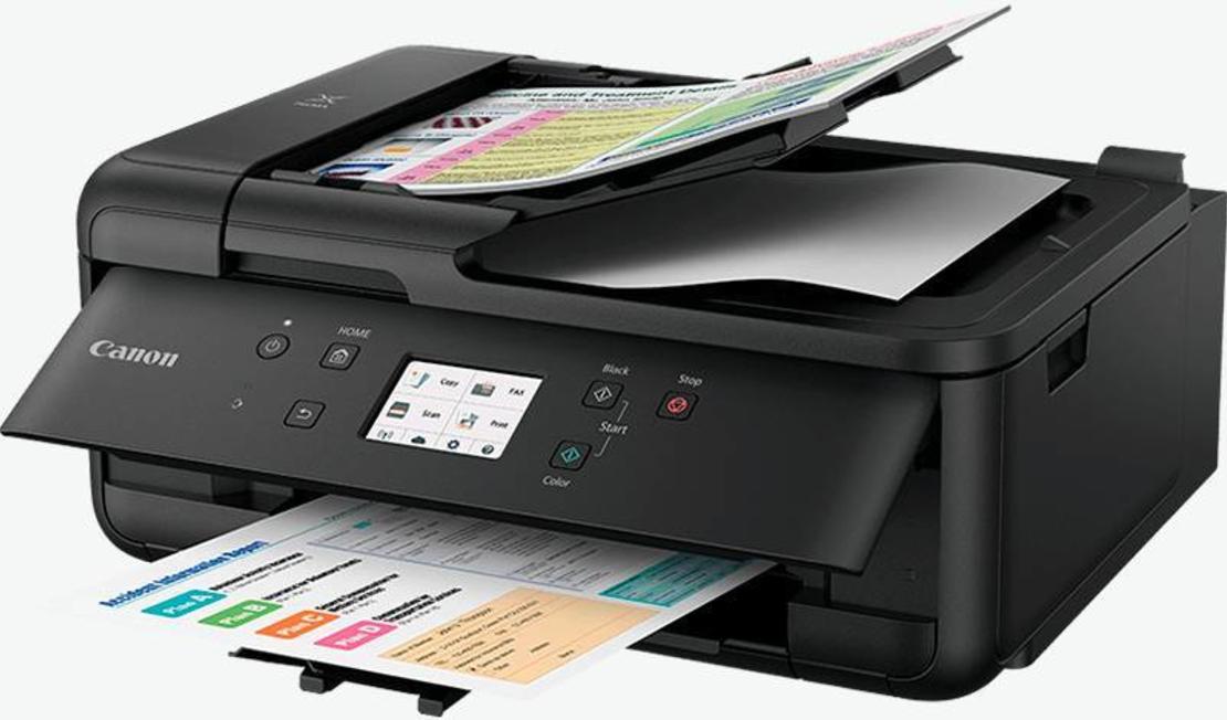מדפסת צבעונית הזרקת דיו משולבת Canon PIXMA TR7550