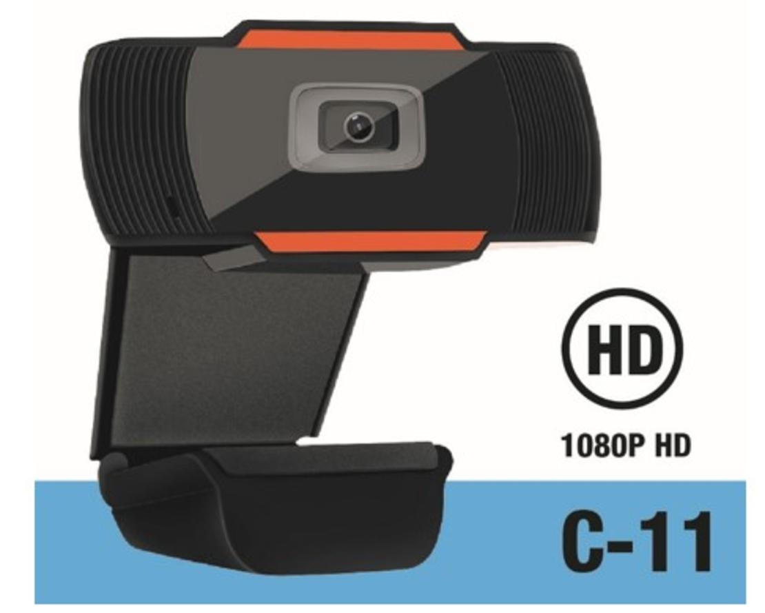 מצלמת אינטרנט עם מיקרופון מובנה GPlus C-011 Full HD