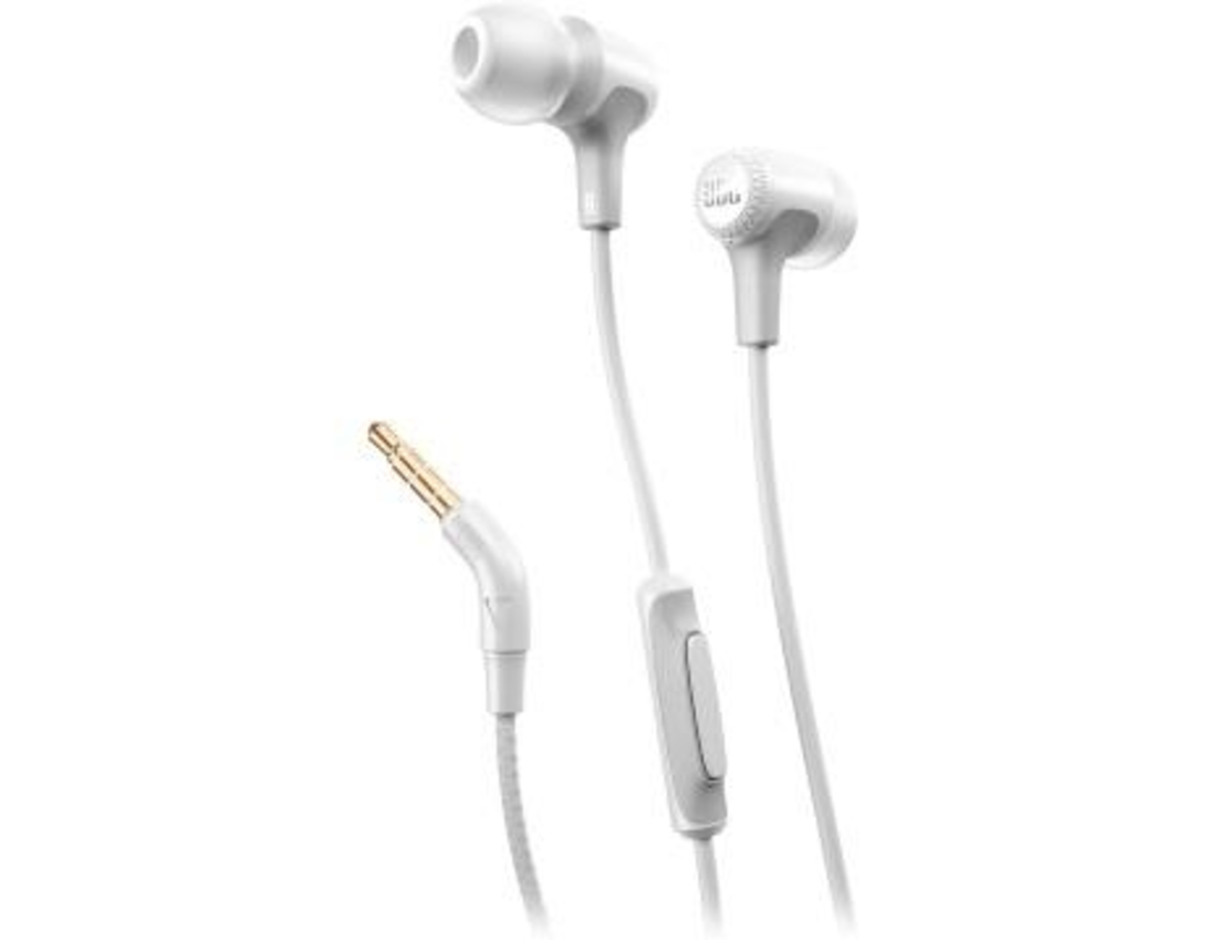 אוזניות JBL IN EAR E15 צבע לבן