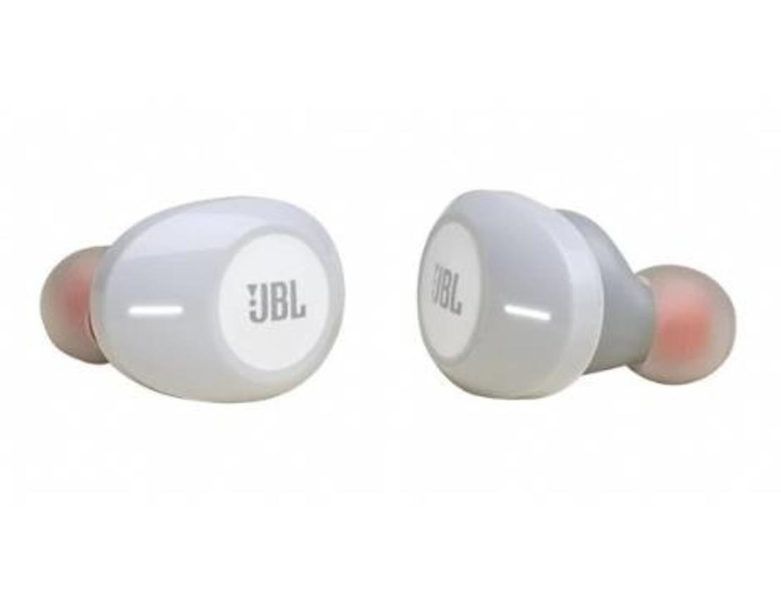 אוזניות אלחוטיות JBL T120TWS  צבע לבן