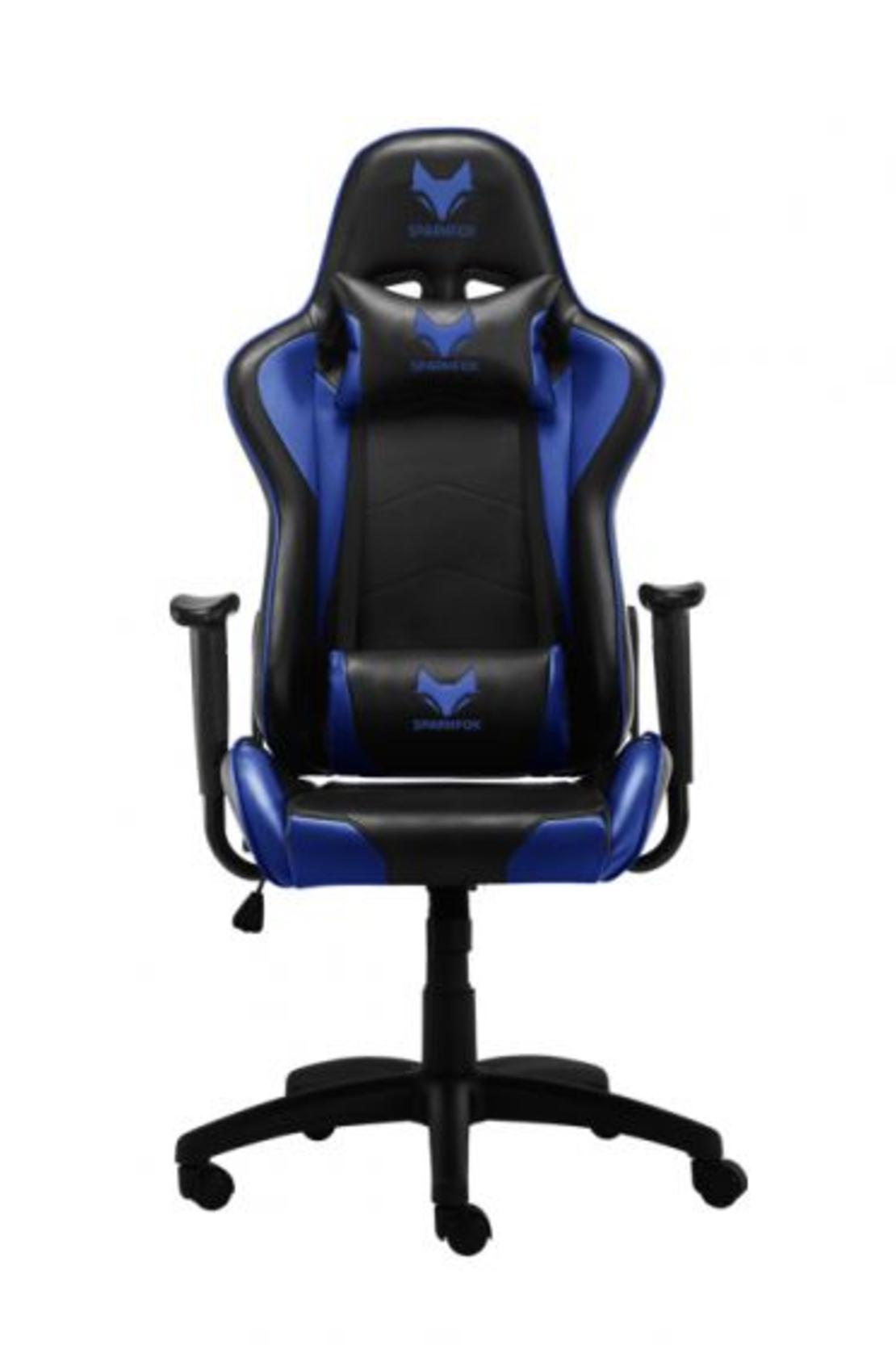 מושב גיימינג מקצועי GT ZONE SPARKFOX GC60ST שחור/כחול