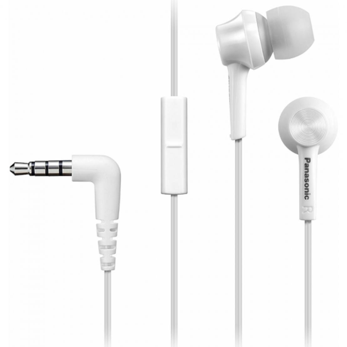 אוזניות Panasonic RP-TCM115 In-Ear - צבע לבן