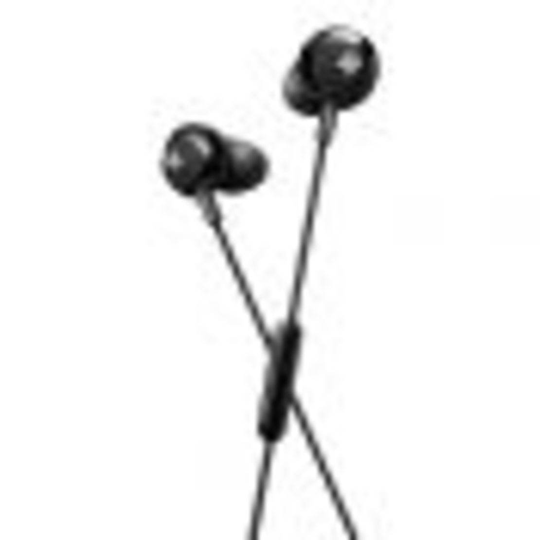 אוזניות כפתור +Philips SHE4305BK BASS שחור
