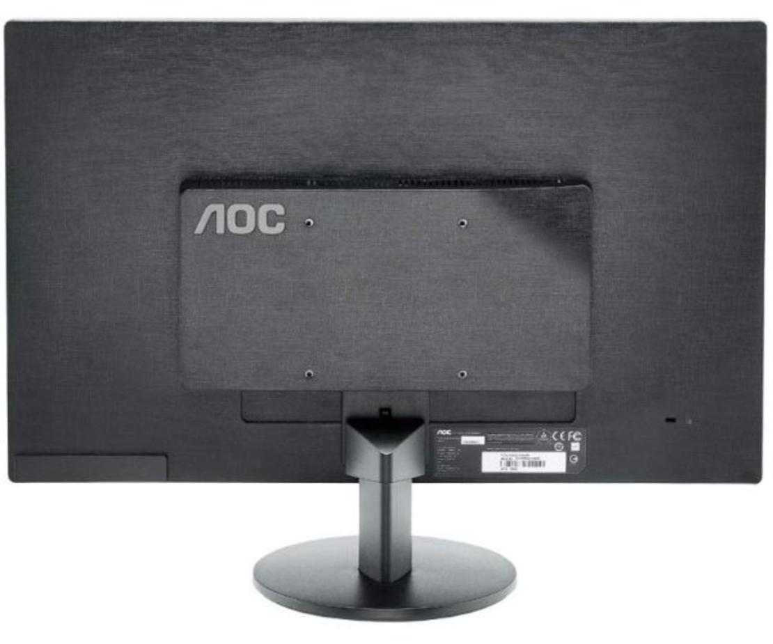 מסך עם רמקולים מובנים  AOC E2470SWH 24