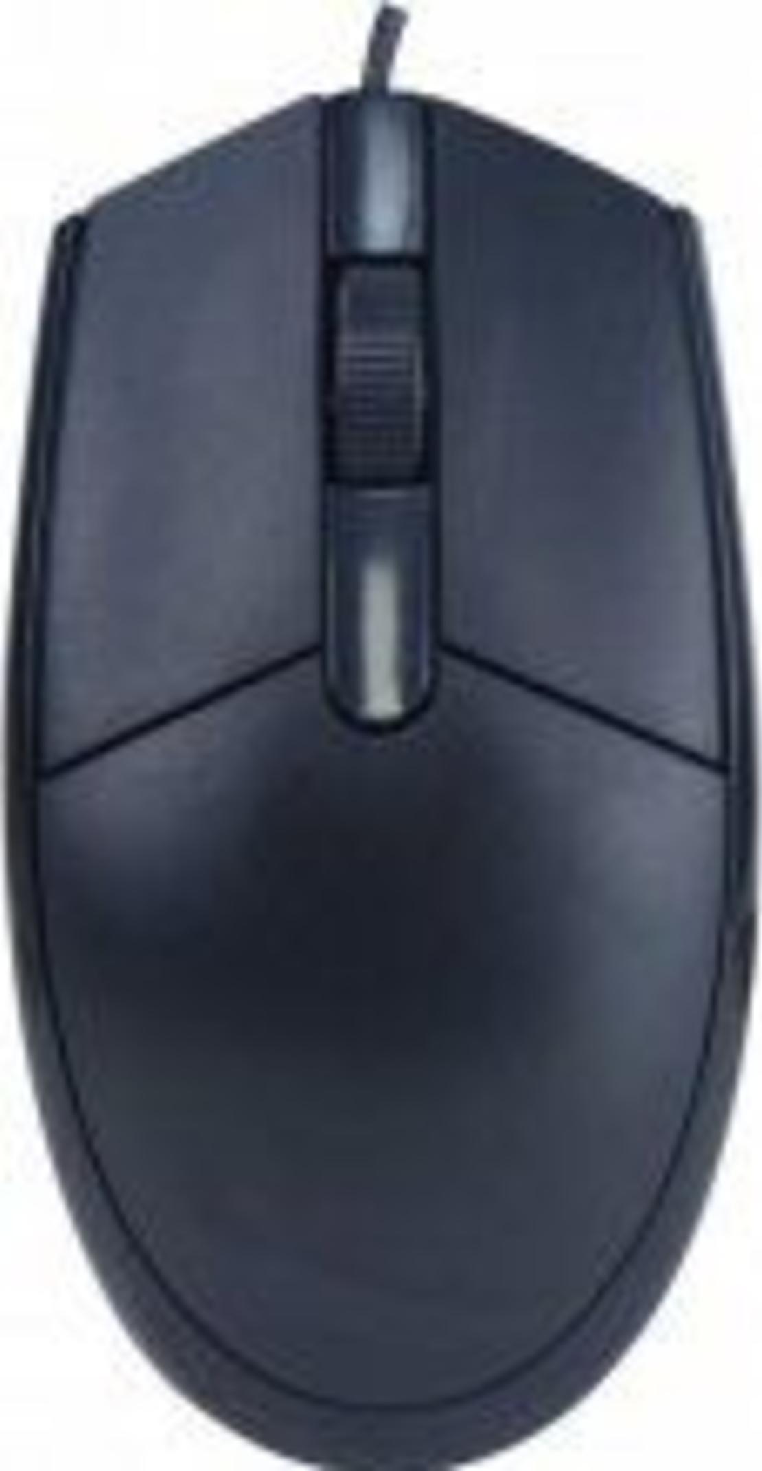 עכבר אופטי קווי Silver Line USB OM-180USB צבע שחור