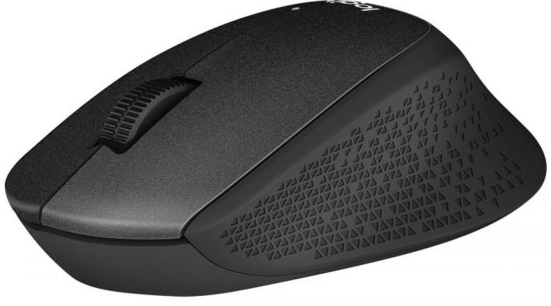 עכבר אלחוטי Logitech Silent Plus M330 שחור