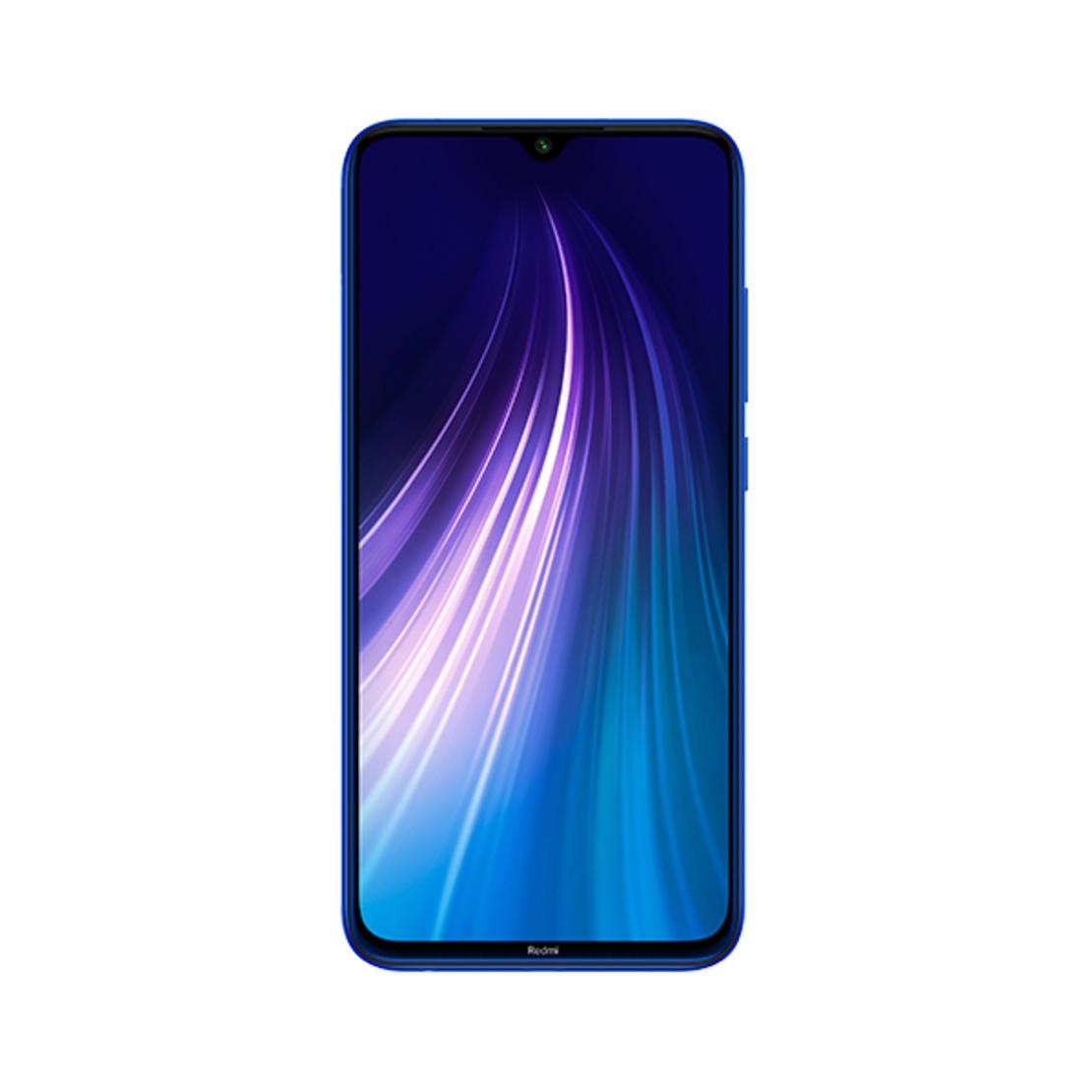 סמארטפון REDMI NOTE 8 גרסה 4GB+128GB בצבע כחול יבואן רשמי