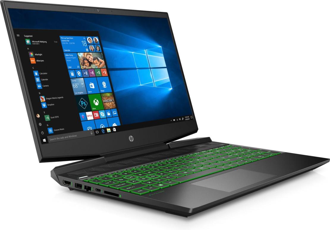 מחשב נייד HP Pav Gaming 15.6 FHD/15-dk0018nj/ i7-9750H