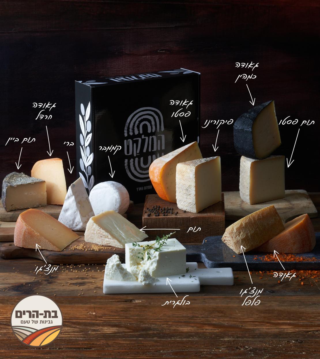 מארז של 12 גבינות בוטיק