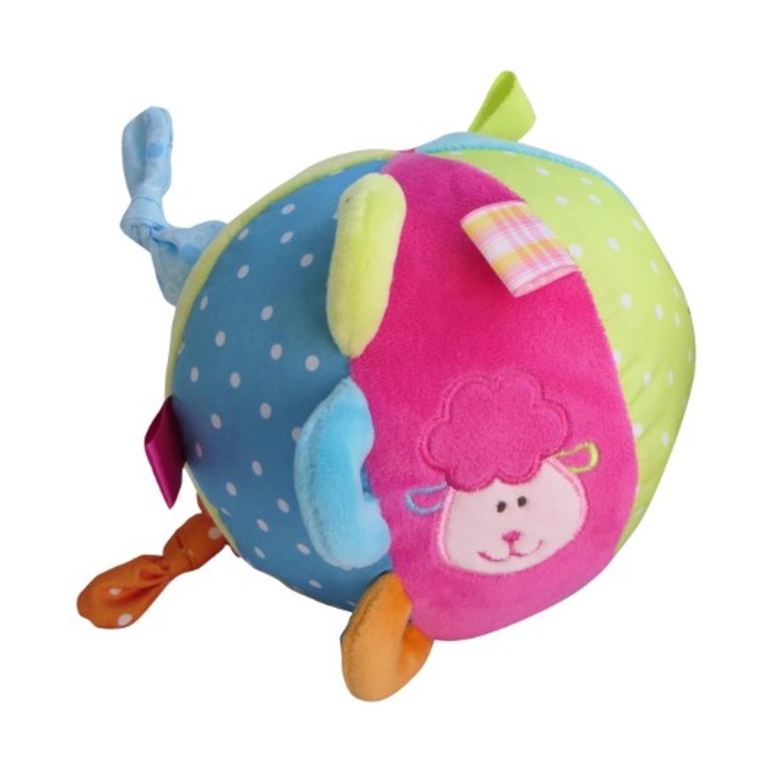 49# - ילדה של אבא : מתנה לתינוקת המתוקה בקופסת בד לצעצועים המכילה ספר בד, שמיכה, כדור תחושות קטיפתי , בובת מקל מרשרשת וכובע