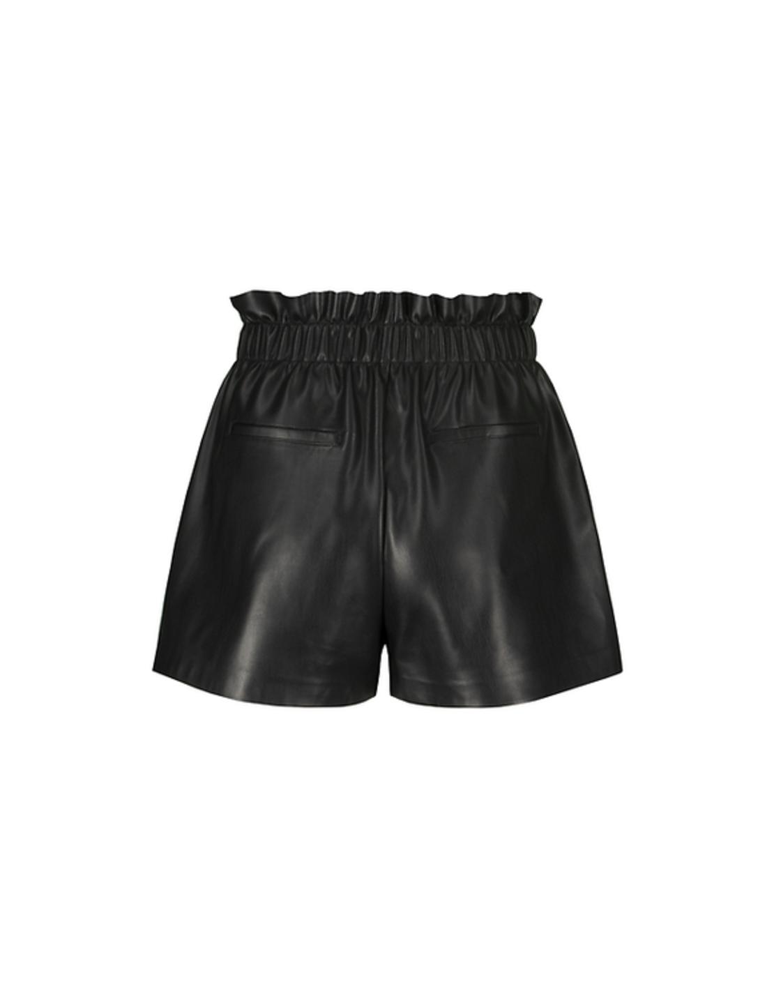 מכנסיים שורט דמוי עור SSHPUJIO -HH