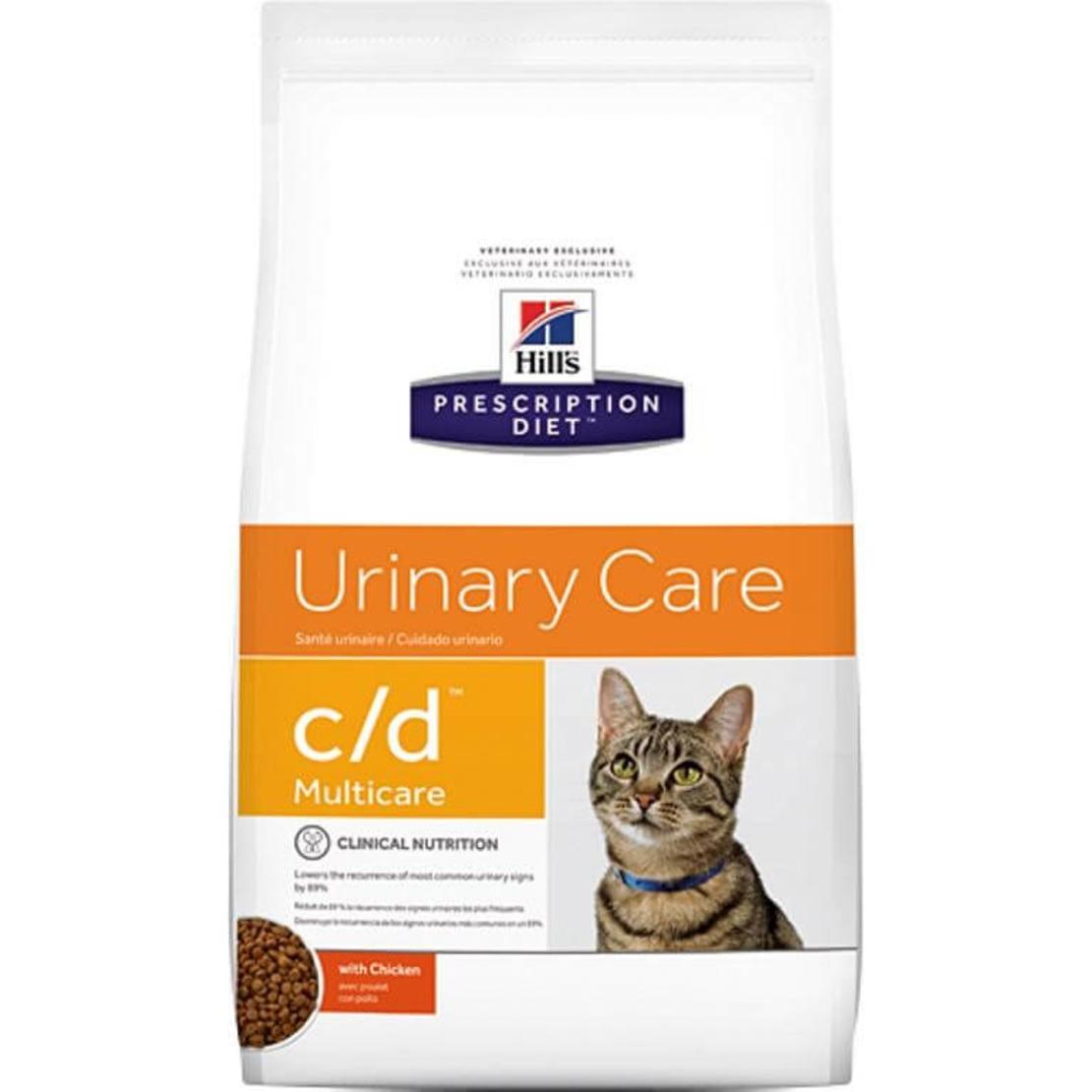Hill's Prescription Diet C/D הילס C/D מזון רפואי לחתול 10 ק