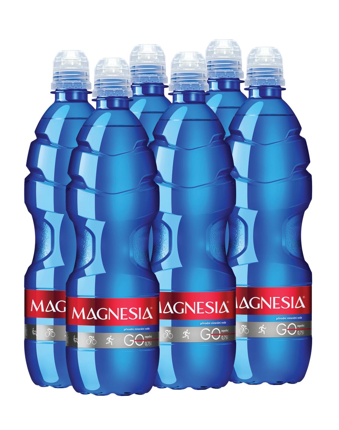 Magnesia Go - שישיית מי מגנזיה 750 מ