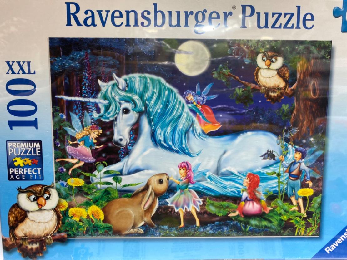 פאזל חד קרן  100 חלקים Ravensburger