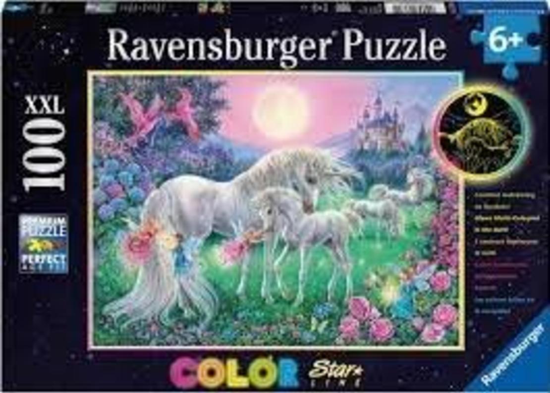 פאזל  חד קרן קסום 100 חלקים Ravensburger