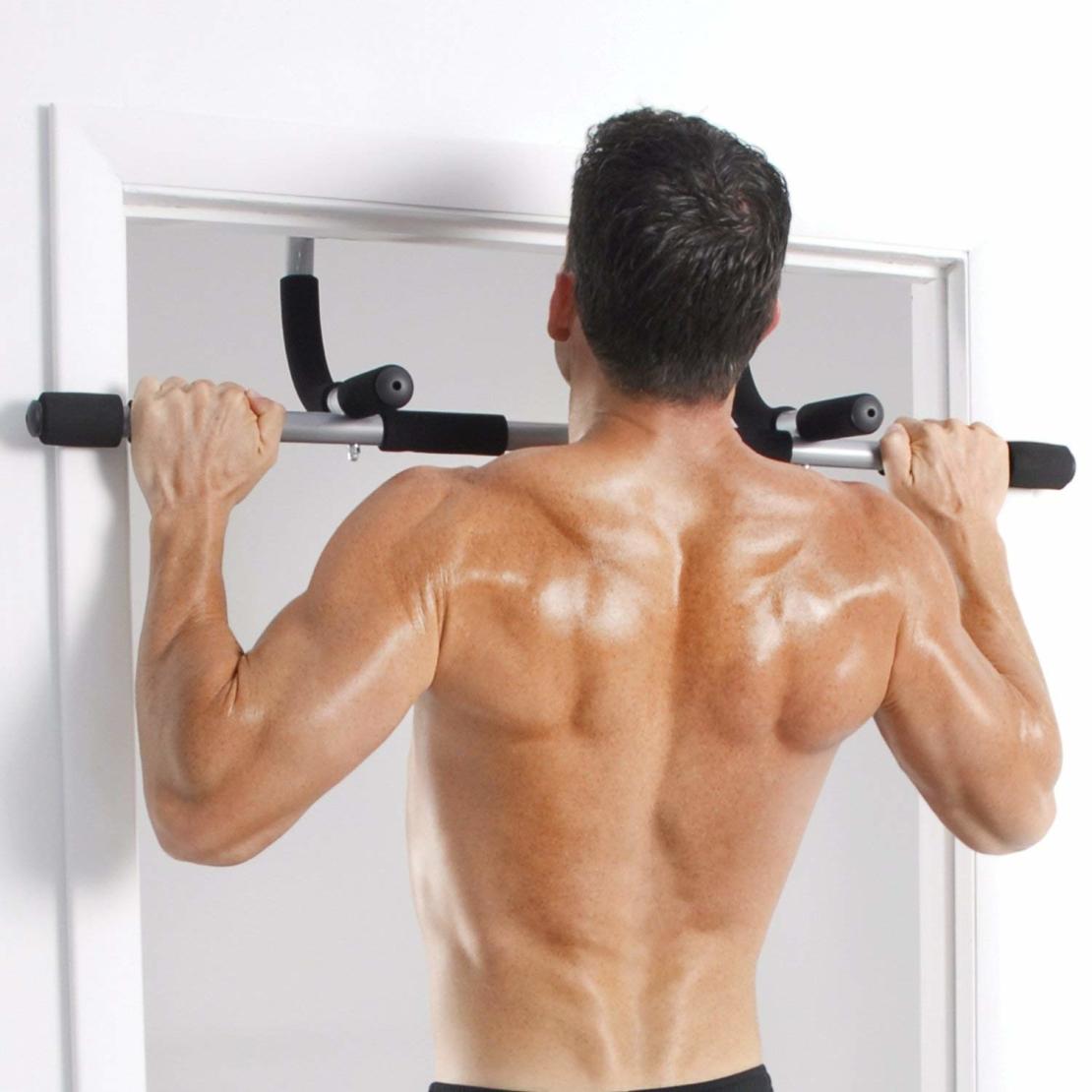 מוט מתח Iron Gym לדלת