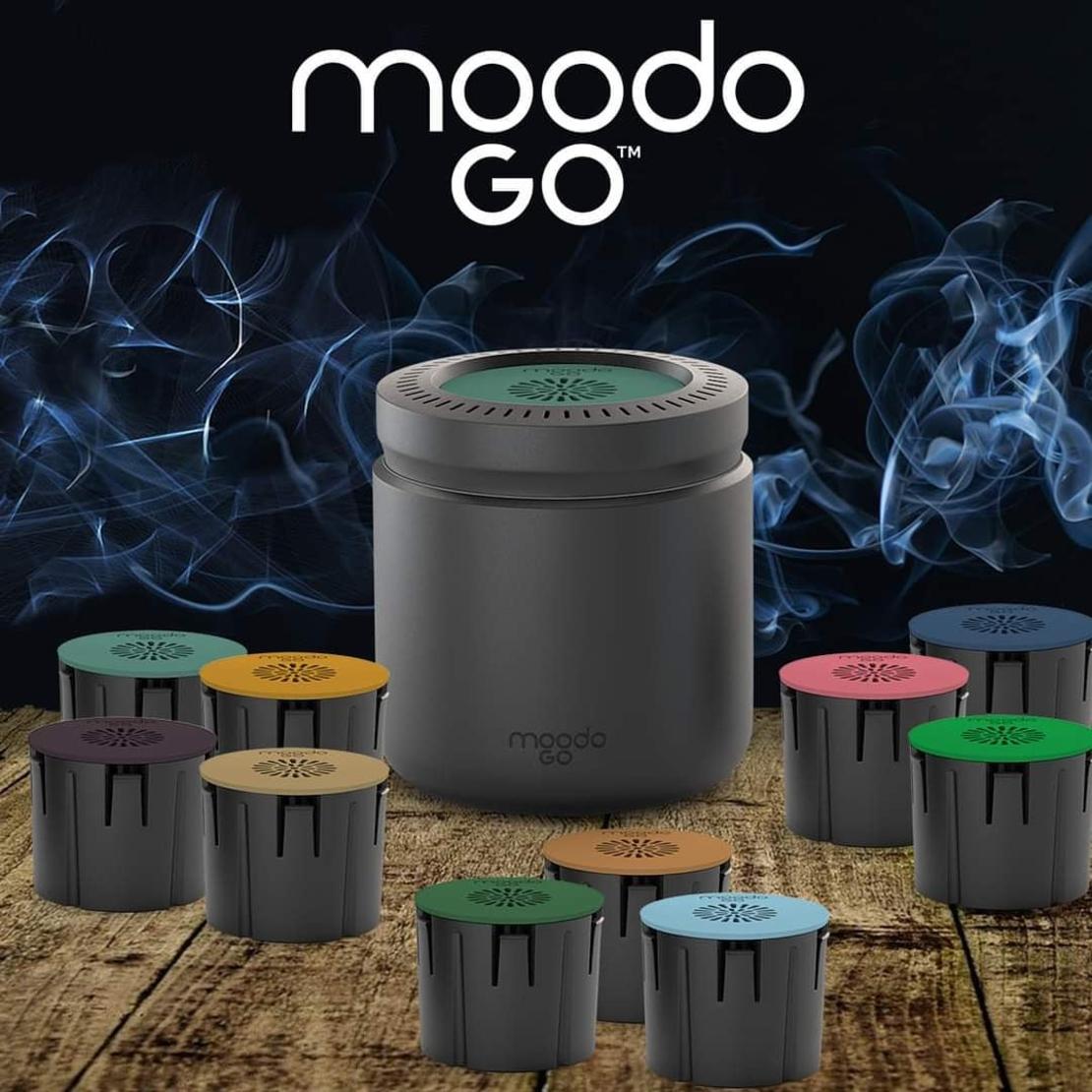 מפיץ ריח אלקטרוני לרכב moodo