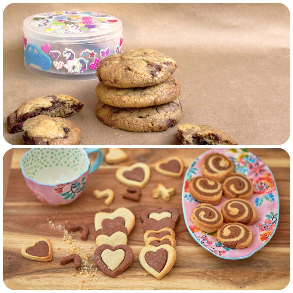 מארז עוגיות-שוקו וניל ועוגיות מהסרטים
