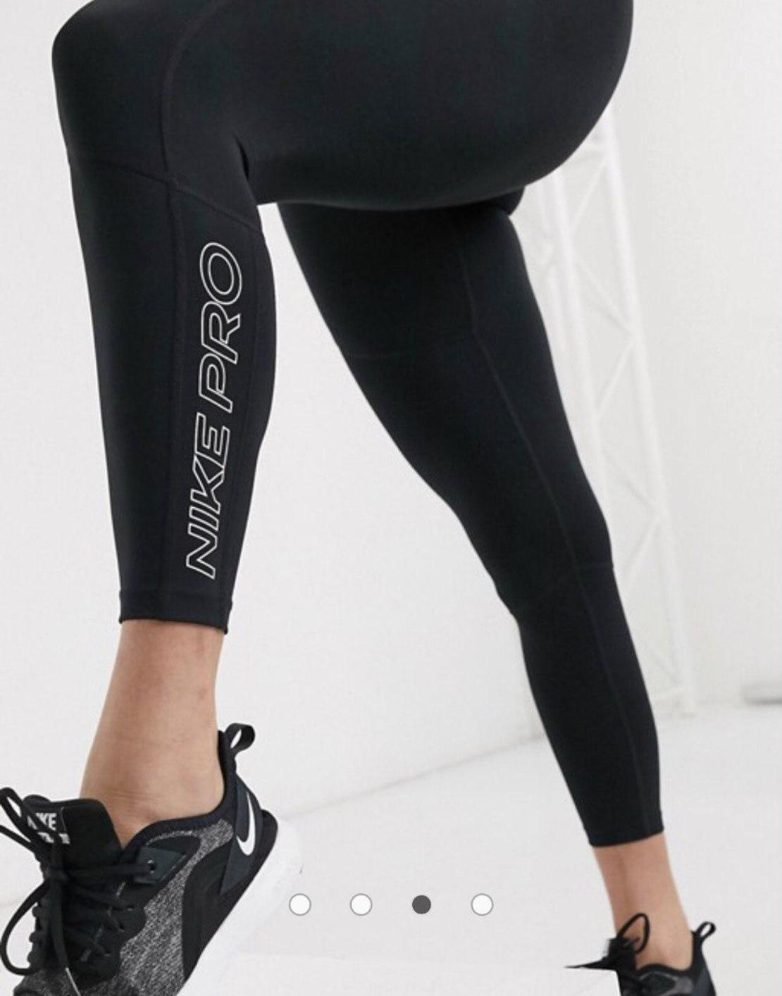 טייץ נייק לנשים   Nike Pro Women's 7/8 Graphic Leggings
