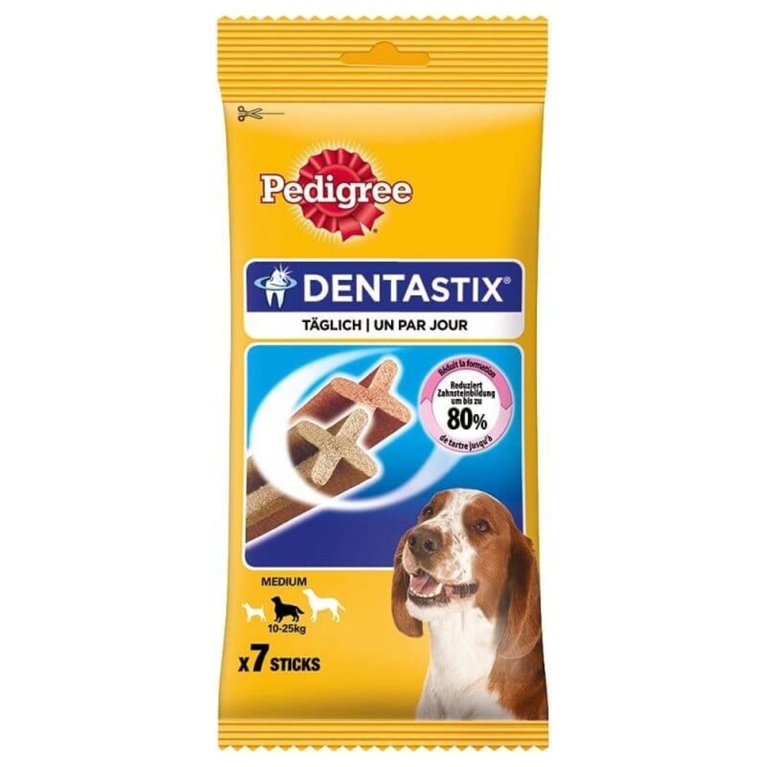 Pedigree DENTASTIX פדיגרי דנטה סטיקס - חטיף דנטלי לכלב לשימוש יומיומי