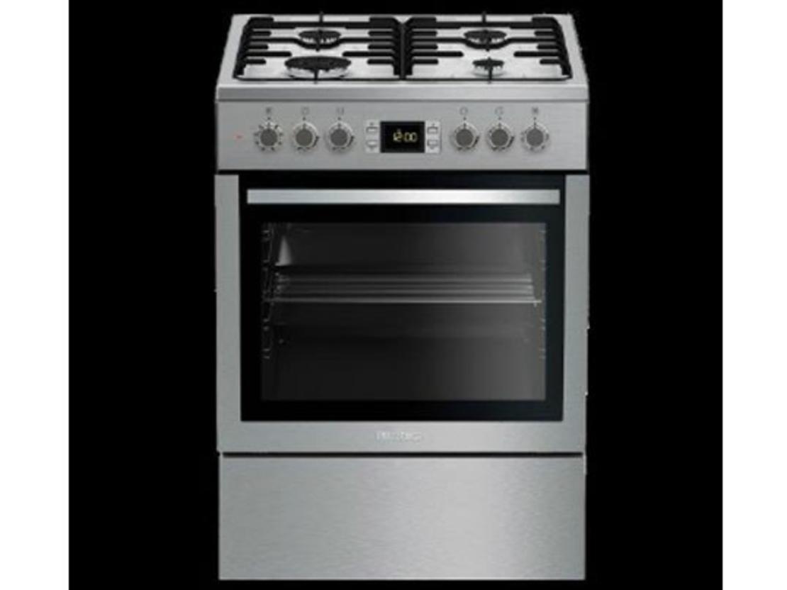 תנור משולב נירוסטה מוברשת בלומברג HGN 8433 X