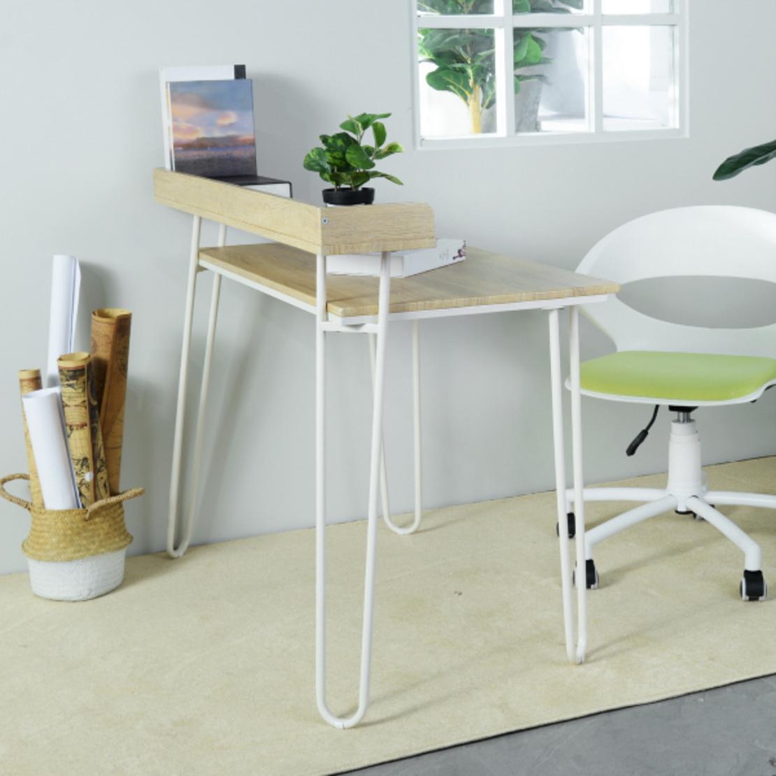 אייסר שולחן מחשב HOMAX בשני צבעים