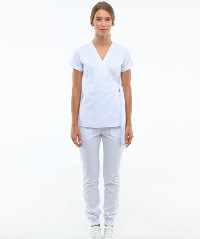 חליפה רפואית צבע לבן 2889