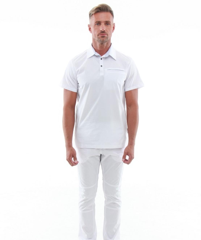 חליפה רפואית In White Special צבע לבן 50085