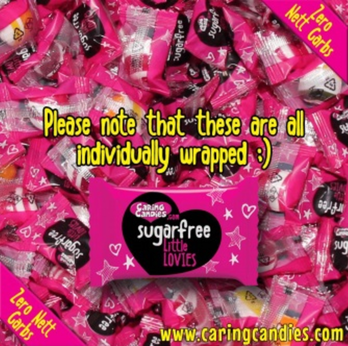 Caring Candies Little Lovies Fruits 100g or 1 kg