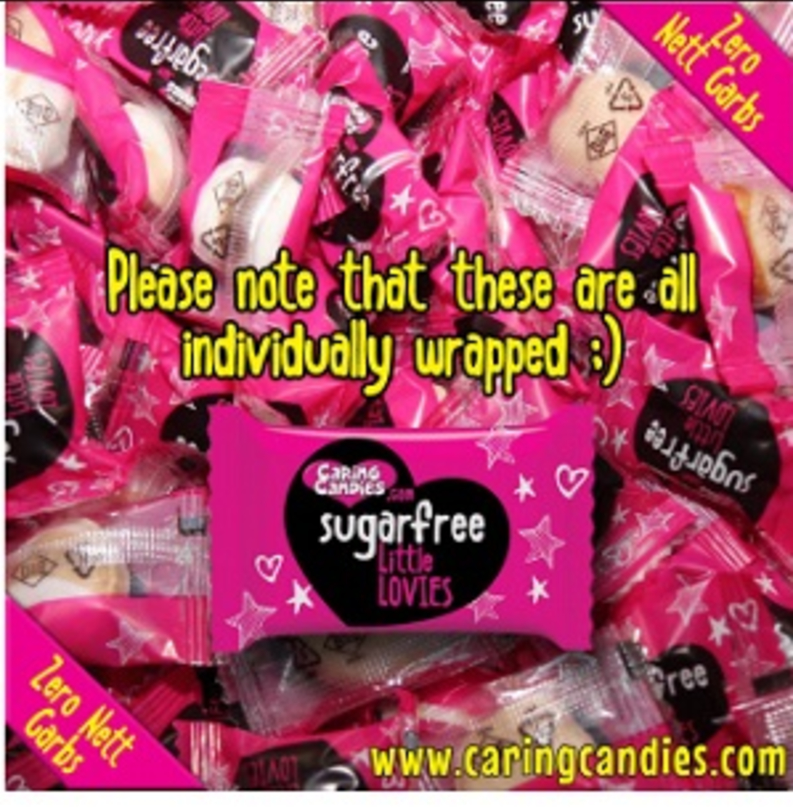 Caring Candies Little Lovies Comforts 100g or 1kg