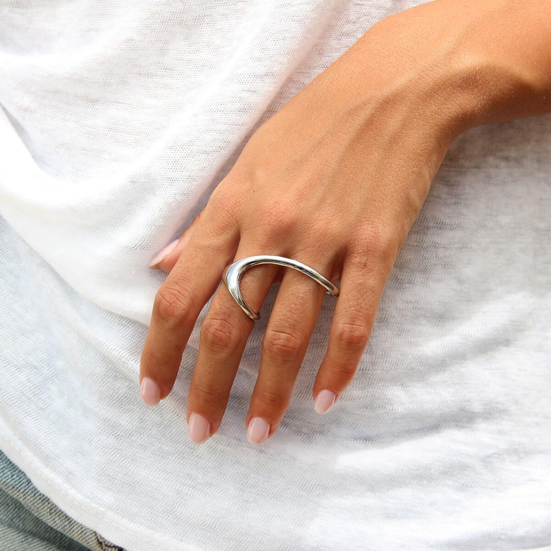 טבעת דאב - כסף 925