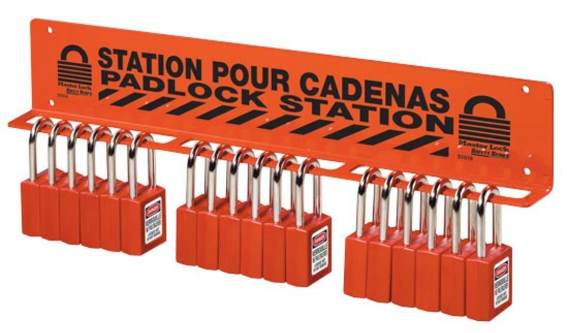 תחנה לתליית מנעולים Padlock Rack S1518
