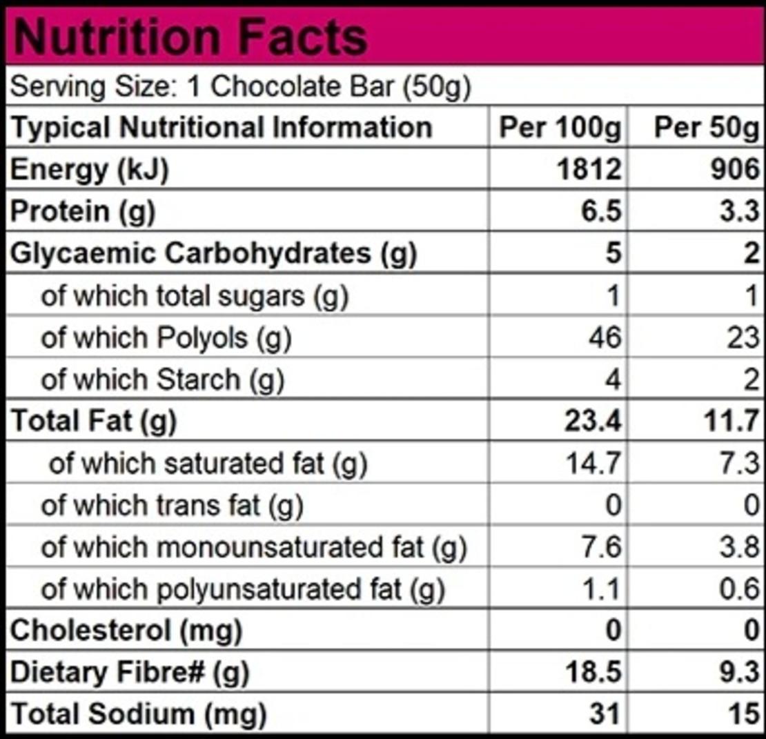 שוקולד 70% מריר - ללא סוכר עם שבבי דובדבן חמוץ 50 גר'